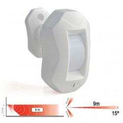 Sensor de movimiento para reloj avisador y pantalla