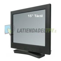 "Pantalla táctil de 15"" TFT LCD"
