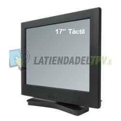 "Pantalla táctil de 17"" TFT LCD"
