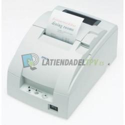 Impresora matricial de ticket Epson TM-U220 con cortador automático y copia de recibos