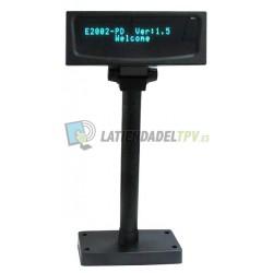 Visor VFD 2002 2X20 USB Autoalimentado Negro el más compatible