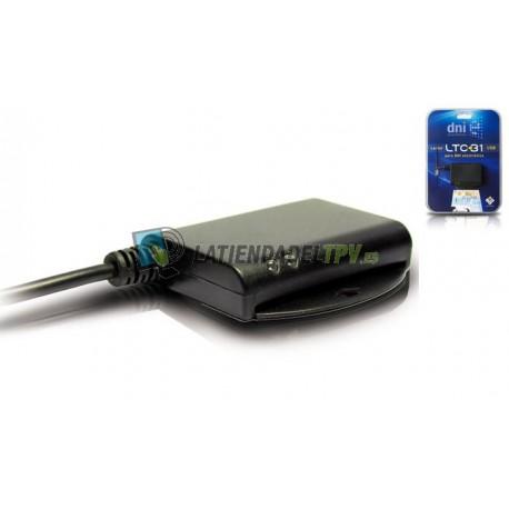 Lector y grabador de tarjeta chip para PC
