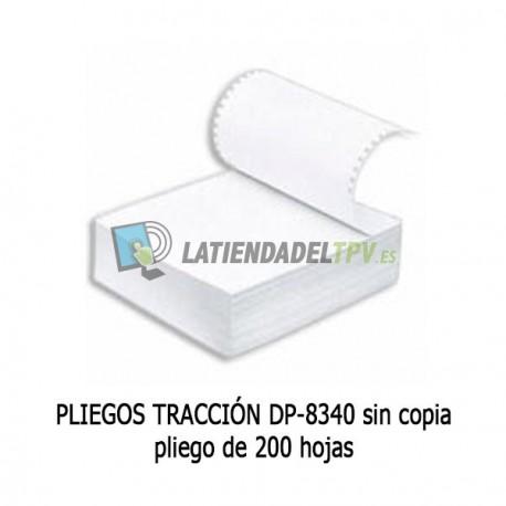 PLIEGOS TRACCIÓN DP-8340 sin copia