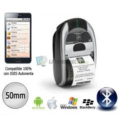 Zebra iMZ 220 Impresora de ticket Portátil compatible con IOS y Android