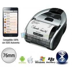 Zebra iMZ 320 Impresora de ticket Portátil compatible con IOS