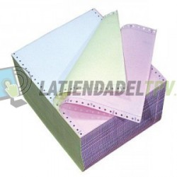 Papel Star DP8340 de Tracción (original + 2 copias) DP8340