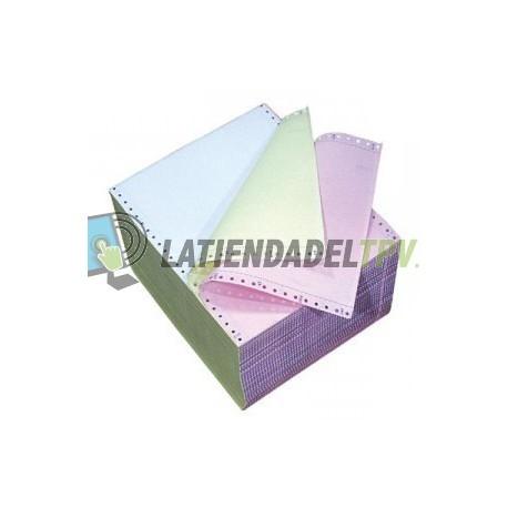 Papel Star DP8340 de Tracción (original + 2 copias) DP8340