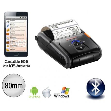 Impresora portátil bluetooth para IOS y Android 80mm