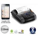 Impresora portátil bluetooth para IOS y Android 110mm