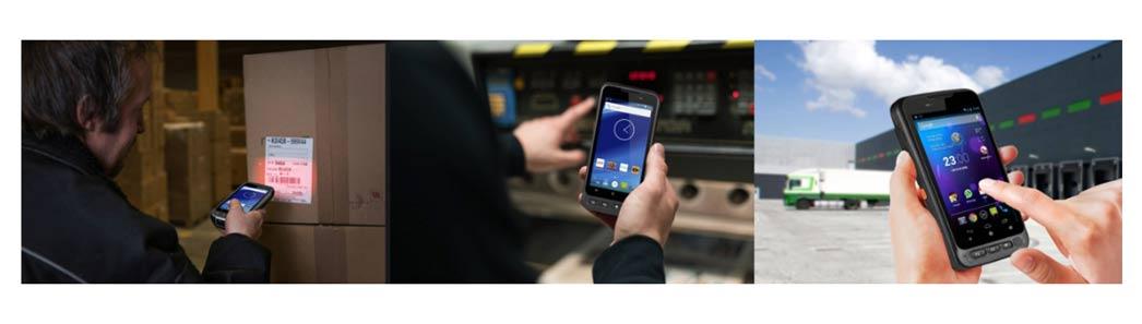 PDA para almacenes e inventarios