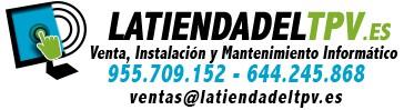 Venta de Impresoras de ticket, Cajones Portamonedas, TPV, Ordenadores para tiendas en Sevilla
